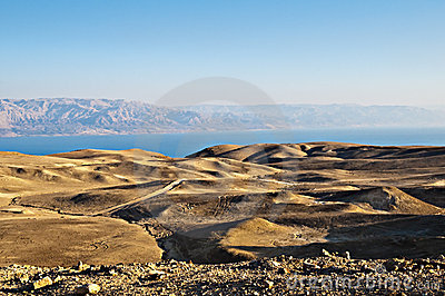 Yehuda desert and dead sea