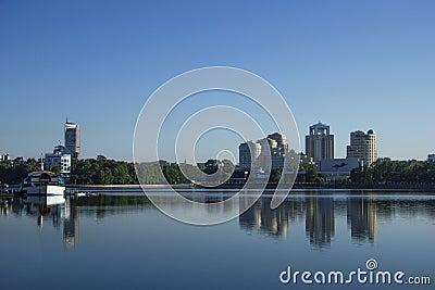 Yekaterinburg city landscape (Russia)