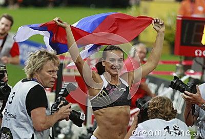 Yelena Isinbayeva Editorial Image