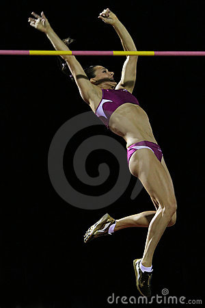 Yelena Isinbayeva Editorial Stock Image