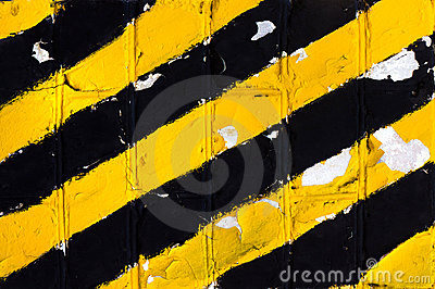 Yellow abstract background texture of the old wall