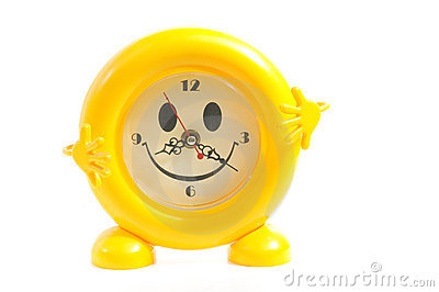 Yellow alarm-clock
