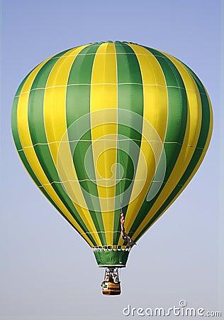 Free Yellow And Green Hot Air Balloon Stock Photos - 788633
