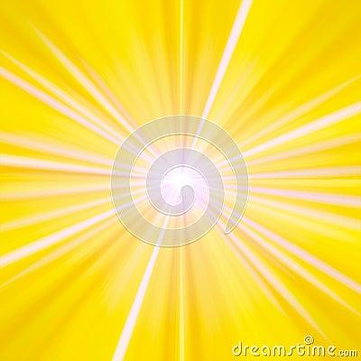 Free Yellow And White Rays Stock Photo - 10483650