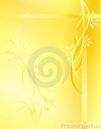 Yellow Background Royalty Free Stock Images - Image: 3266109