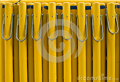 Yellow Barrier Security Objects