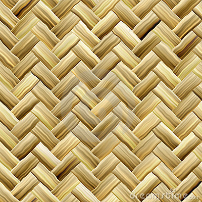 Yellow Basket Weave