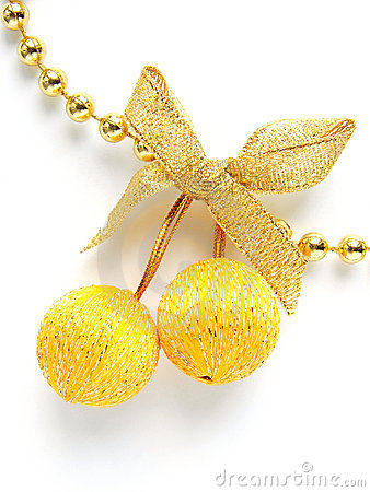 Yellow baubles