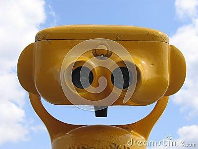 Yellow Binoculars II