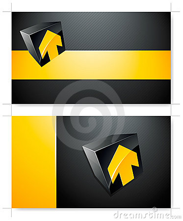 Yellow and black background