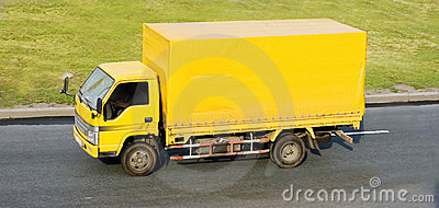 Yellow blank delivery