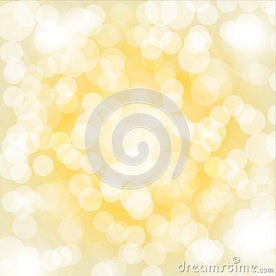 Yellow bokeh background