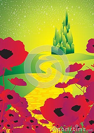Free Yellow Brick Road 1 Royalty Free Stock Photography - 23290647
