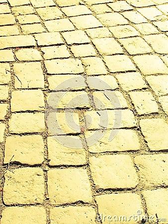 Free Yellow Brick Road Royalty Free Stock Image - 116896
