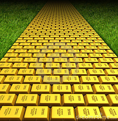 Yellow Brick Road Stock Photography - Image: 18611782