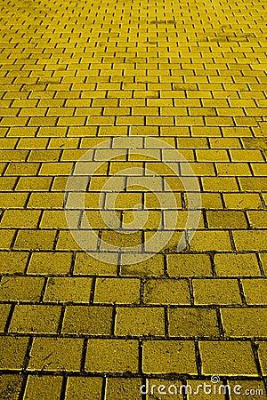 Free Yellow Brick Road Royalty Free Stock Photo - 3988465