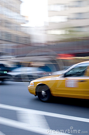 Free Yellow Cab Royalty Free Stock Image - 62936