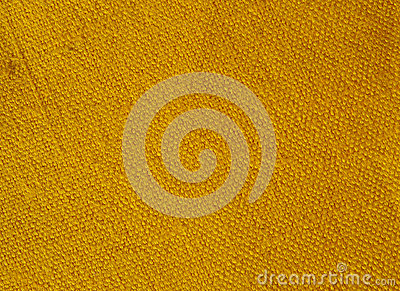 Yellow canvas textile