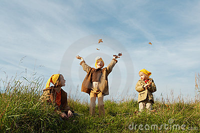 Yellow caps gnomes
