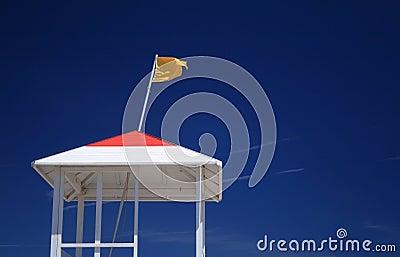 Yellow Caution Flag