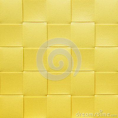 Yellow checkered Placemat, texture