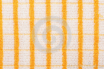 Yellow checkered towel
