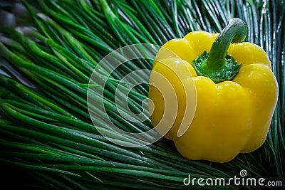 Yellow Chili fresh