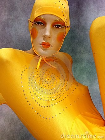 Free Yellow Cirque Du Soleil Stock Images - 1549094