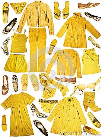 Free Yellow Clothing Stock Photos - 21694613