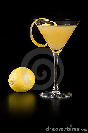 Free Yellow Cocktail Stock Image - 18258941