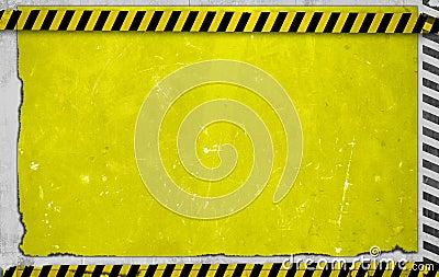Yellow Construction Backdrop