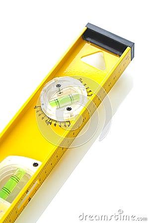 Yellow construction level