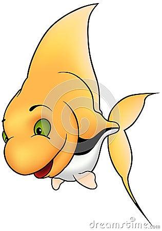 Free Yellow Coral Fish Royalty Free Stock Photos - 7792198