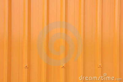Yellow Corrugated Longrun Iron