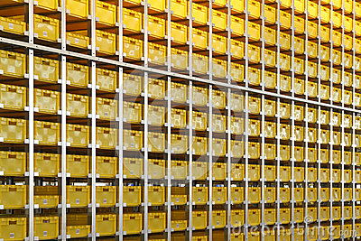 Yellow crates