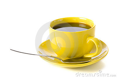 Yellow Cup of Coffee