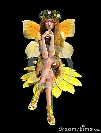 Yellow Daisy Fay CA