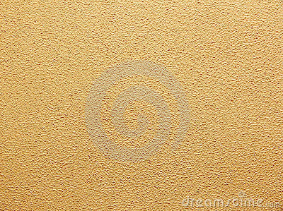 Yellow decorative plaster
