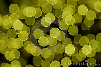 Yellow Defocused Lights