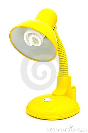 Free Yellow Desk Lamp Stock Images - 19940824