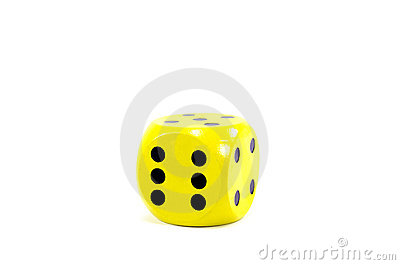 Yellow die