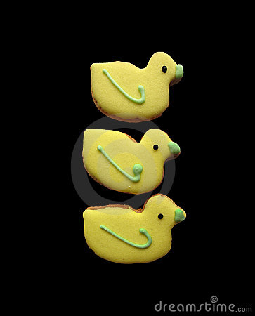 Yellow Easter Cookies