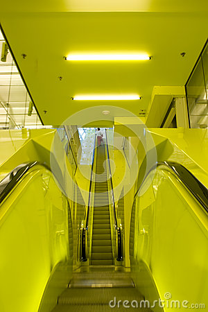 Yellow Escalators