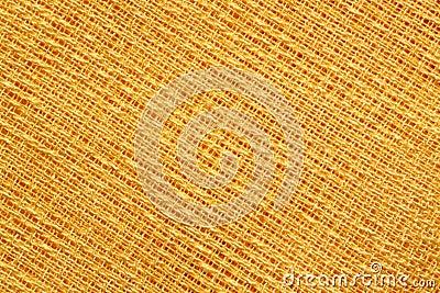 Yellow fabric pattern
