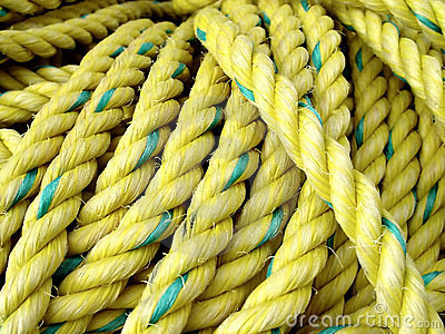Yellow Fishing Rope