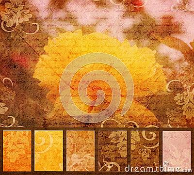 Yellow Flower Artistic Grunge