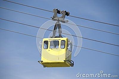 Yellow funicular