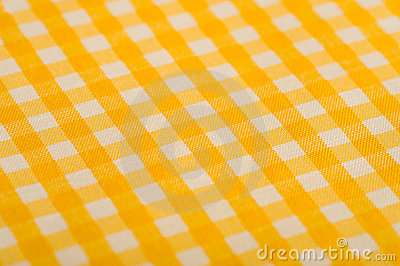 Yellow Gingham Background
