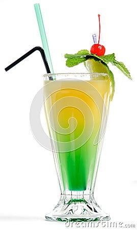 Free Yellow Green Cocktail Royalty Free Stock Photos - 33960968