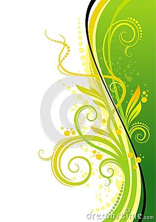 Free Yellow-green Design Stock Image - 3657691